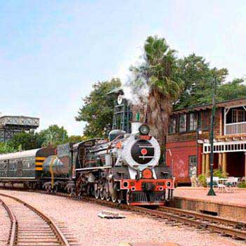 Southern Africa By River And Rail Package