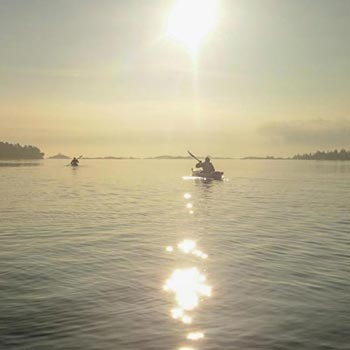 Short day or Evening Kayaking Tours for Private Groups