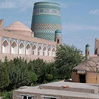 From St. Petersburg, Russia to Uzbekistan Package