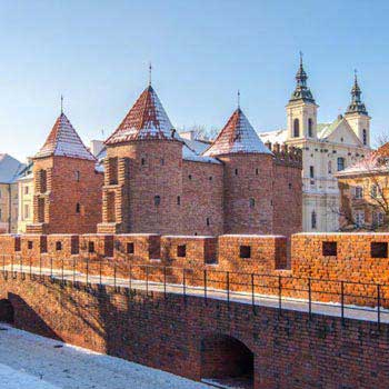 Warsaw Tour from Krakow Package
