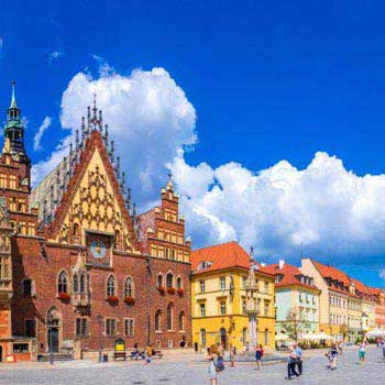 Wroclaw Tour from Krakow Package