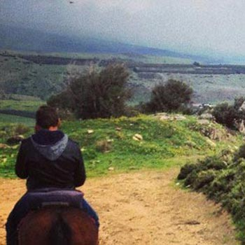Horseback Riding Tour On the Jesus Trail Package