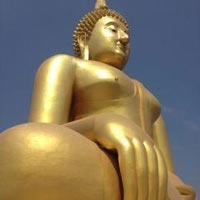 Ayutthaya City and Biggest Sitting Buddha in Thailand Package