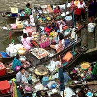 Railway Market Combined with Swimming Monkey & Fishing Village + Amphawa Floating Market Package