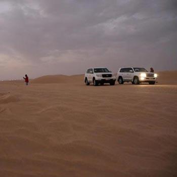 3 Hour Morning Desert Safari Private Car Package