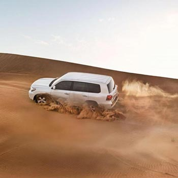3 Evening Desert Safari with Private Car Package
