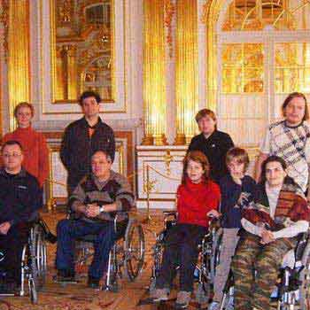 St. Petersburg for Wheelchair Travelers with Tsarskoe Selo & Amber Room Tour