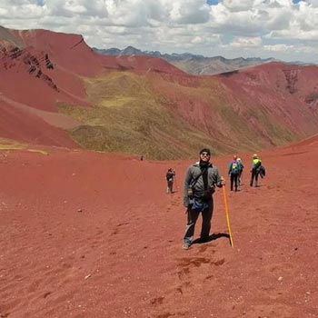 Vinicunca Rainbow Mountain - Ausangate Trek Tour