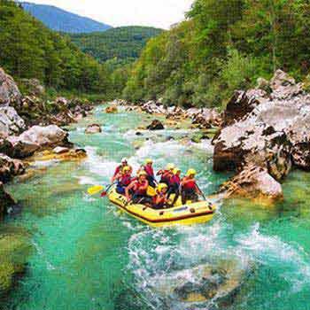 Soča White-water Rafting Package
