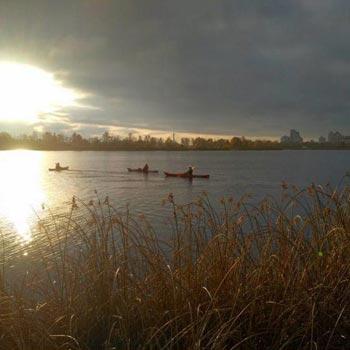 Kayaking In Kiev Tour