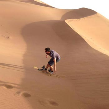 SandBaording in Agadir Tour