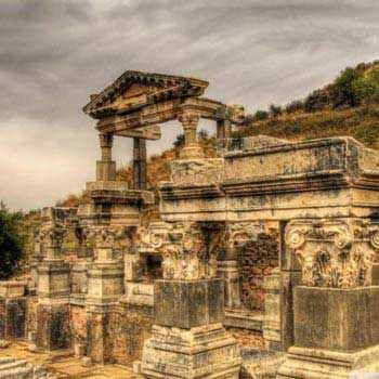 The Ancient City of Ephesus & Temple of Artemis & House of Virgin Mary & Ephesus Museum Tour