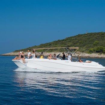 Speedboat Hvar, Vis & Blue Cave Tour