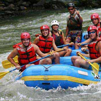 3 Day Multisport: White-water Rafting and Canyoning