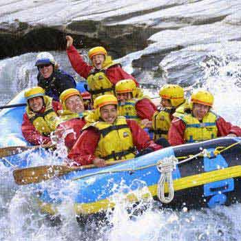 2 Day Multisport: Rafting & Hiking Tour