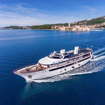 Dubrovnik to Porec One Way Deluxe Cruise Package