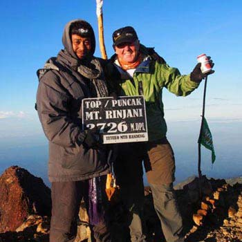 Rinjani 4 Days Climbing Expedition Package