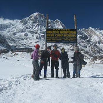 Annapurna base camp trek-16 Days  Package