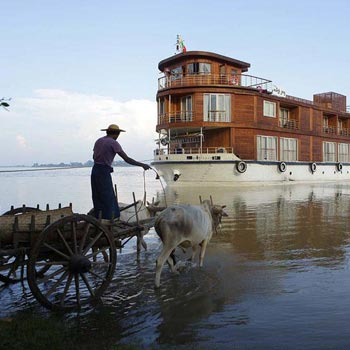 Irrawaddy River Cruise Tour Myanmar