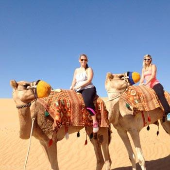 Evening Desert Safari Abu Dhabi with Camel & Animal Farm Visit Package