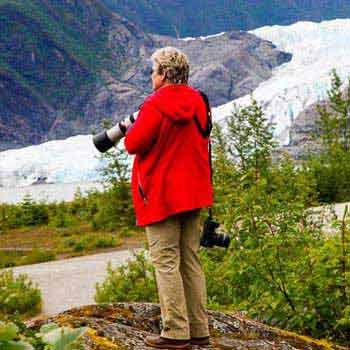 Rainforests and Waterfalls of Mendenhall Glacier Private Tour Package