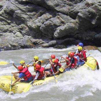 Rafting in Trisuli River