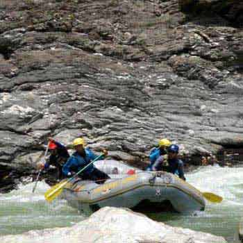 Rafting in Karnali River