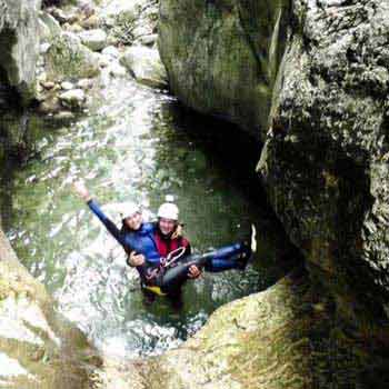 Canyoning - a Special Sport Activity in Bled Surroundings, Slovenia Package