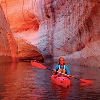 Mothership Kayaking on Lake Powell Tour