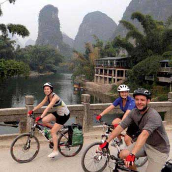 Southern China Cycle and Hike Tour