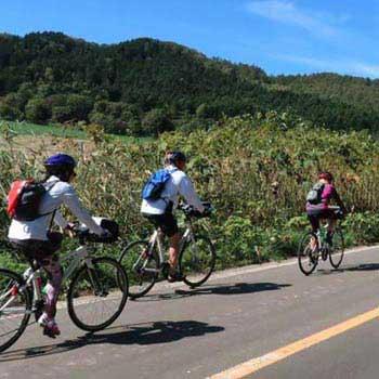 Secrets of Hokkaido By Bike Tour