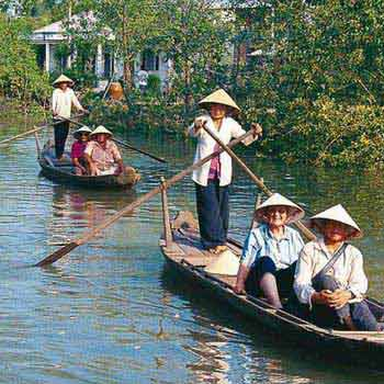 Vietnam Hidden Cycle Trails of the Mekong Delta Tour