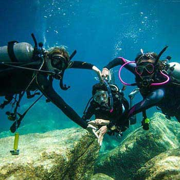 Blue Dive – Day Dive Package