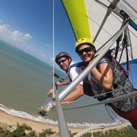 Updraught Hang Gliders – Tandem Intro Flight Package