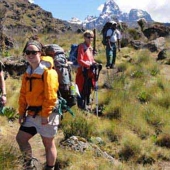 Mt Kenya Climbing: Sirimon Route Tour