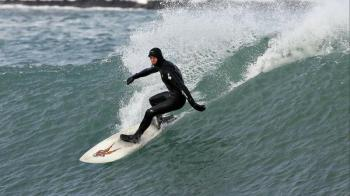 Surfing in Iceland Around Reykjanes Peninsula