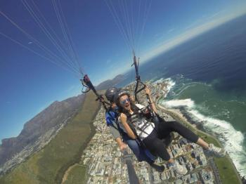 Tandem Paragliding Cape Town Package