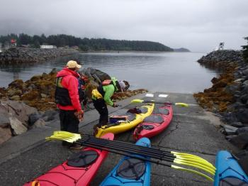 Sitka Island Paddle and Lost Fort Trek Package
