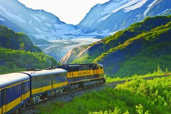Transfer Whittier to Anchorage Via Glacier Discovery Train Package.