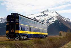 Transfer Denali National Park to Anchorage via Denali Star Train Package