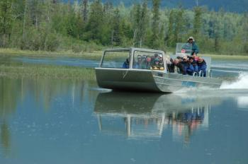 Haines Jet Boat Adventure & City Highlights Package
