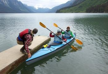 Haines Chilkoot Lake Wildlife Kayak Tour Package