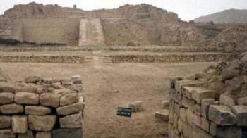 The Temple of Pachacamac