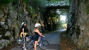 Biking the Railway Tour