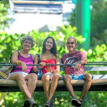 Scenic Sky Glider and Zipline Combo Tour
