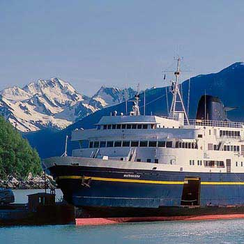 Whittier to Anchorage Direct Transfer - Alaska Marine Ferry Package