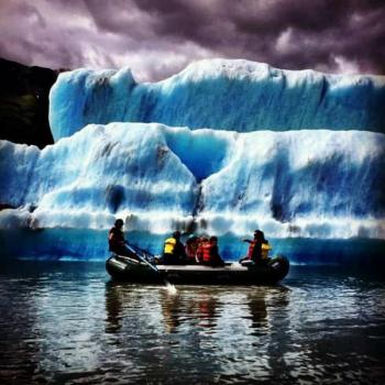 Glacier Salmon Bake with Bears, Trains, Icebergs Package