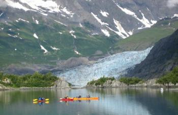 Shoup Glacier Kayak Tour Package