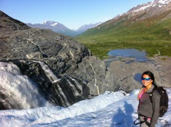 Full Day Worthington Glacier Hike Package