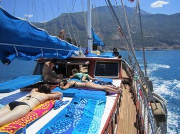 Kas to Olympos Blue Cruises Turkey Package